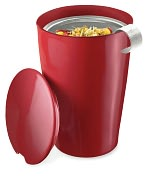 Product Image. Title: Cranberry Red Kati Cup - Tea Brewing System