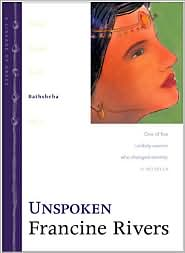 Unspoken by Francine Rivers: Book Cover