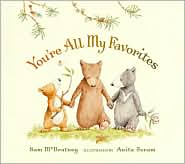 You're All My Favorites by Sam McBratney: Book Cover