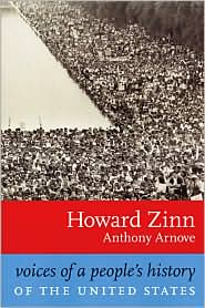 Voices of A People's History of the United States by Howard Zinn: Book Cover