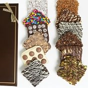 Product Image. Title: 9 Belgian Chocolate Covered Graham Crackers