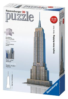 Empire State Building 3-D Puzzle