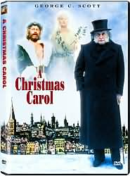A Christmas Carol with George C. Scott: DVD Cover