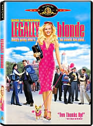 Legally Blonde starring Reese Witherspoon: DVD Cover