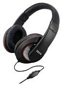 Product Image. Title: iHome IB40B Over-the-ear Headphones with Volume Control - Black