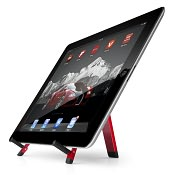 Product Image. Title: Compass Red Mobile Stand for iPad