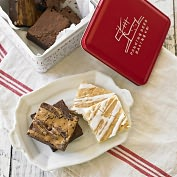 Product Image. Title: Assorted Dancing Deer Brownie Tin