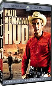Hud starring Paul Newman: DVD Cover