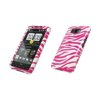 Buy Accessory Export Phones - Premium Pink with White Skulls Design Snap-On Cover Hard Case Cell Phone Protector for HTC HD2 [Accessory Export Brand Packaging]