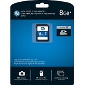 Product Image. Title: HP CG788A-EF 8 GB Secure Digital High Capacity (SDHC) - 1 Card
