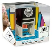 Product Image. Title: Three Designing Women Grab N' Go Book Lover Stamp - Book Belongs