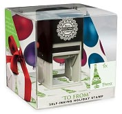 Product Image. Title: Three Designing Women Grab N' Go Holiday Stamp - To From
