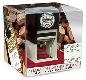 Product Image. Title: Three Designing Women Grab N' Go Kitchen Stamp - Wine Cellar