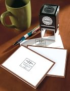 Product Image. Title: Three Designing Women Personalized Designer Stamp