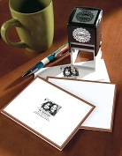 Product Image. Title: Three Designing Women Personalized Photo Stamp