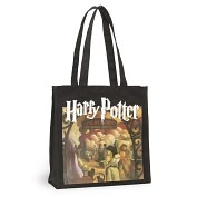 Product Image. Title: Harry Potter Black Canvas Tote (13.5x14x5)