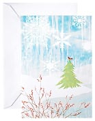 Product Image. Title: Unicef Winter Scene Christmas Boxed Card