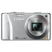 Product Image. Title: Panasonic Lumix DMC-ZS10 14.1 Megapixel Compact Camera - Silver
