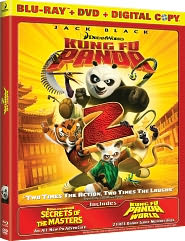 Kung Fu Panda 2 starring Jack Black: Blu-ray Cover