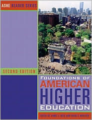  Foundations of American Higher Educatio...