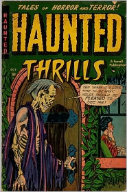 Haunted Thrills Number 3 Horror Comic Book