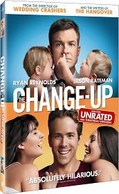 The Change-Up starring Ryan Reynolds: DVD Cover