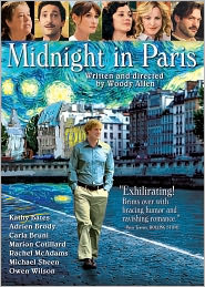 Midnight in Paris starring Owen Wilson: DVD Cover
