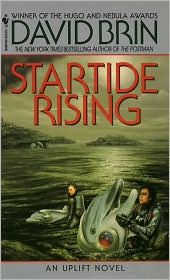 Startide Rising, second in the Uplift series by David Brin.