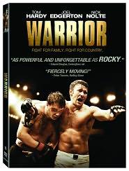 Warrior starring Joel Edgerton: DVD Cover
