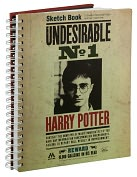 Product Image. Title: Harry Potter ''Undesirable'' Sketchbook 9.25 x 11