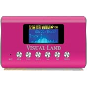Product Image. Title: Visual Land ME909BLU Flash MP3 Player - Blue