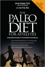 Paleo Diet for Athletes by Loren Cordain: Book Cover