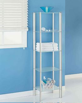 Bathroom Furniture Storage on It All 16925 Ellipse 5 Tier Shelf   Bathroom Storage Furniture