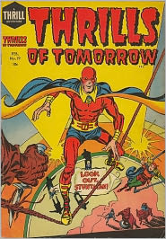 Thrills Of Tomorrow Number 19 Action Comic Book