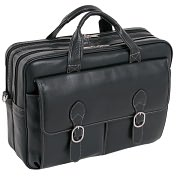 Product Image. Title: McKleinUSA Kenwood S Series 15565 Double Compartment Laptop Case