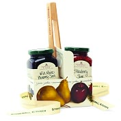 Product Image. Title: Stonewall Kitchen Toast & Jam Grab & Go Gift Set