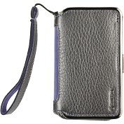 Product Image. Title: Elan Passport Wallet for iPhone 4 in Platinum with lanyard