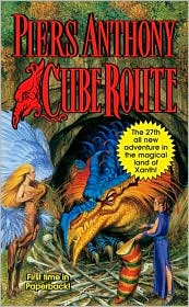 Cube Route (Magic of Xanth Series #27) by Piers Anthony: Book Cover