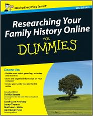 Jenny Thomas, Matthew L. Helm, Nick Barratt, Sarah Newbery  April Leigh Helm - Researching Your Family History Online For Dummies