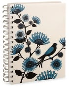Product Image. Title: Blackbird Pearl Lined Journal 6x8