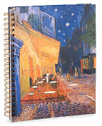 Product Image. Title: Van Gogh Cafe Spiral Sketchbook 8.5 x11