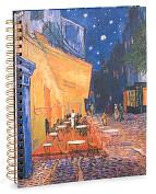 Product Image. Title: Van Gogh Cafe Spiral Sketchbook 8.5 x11