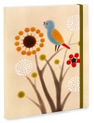 Product Image. Title: Xenia Taler Meadow Bird Flexibound Journal (6 x 8)