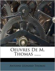 Oeuvres De M. Thomas