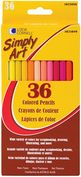 Product Image. Title: Simply Art Colored Pencils 36/Pkg-Assorted Colors