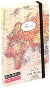 Product Image. Title: Mini World Map Travel Journal 4x6