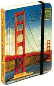 Product Image. Title: Mini Red San Francisco Golden Gate Bridge Journal (4x6)