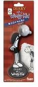 Product Image. Title: Diary of a Wimpy Kid Plastic Bookmark