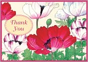 Product Image. Title: Seasons in Bloom Thank You Note Card Set of 12