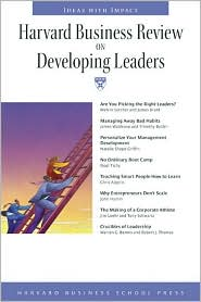 Harvard Business Review on Developing Leaders by Harvard Business School: Book Cover